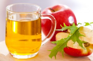 Apple cider vinegar to eliminate ticks