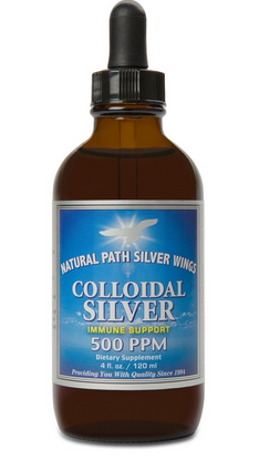 Colloidal silver for canine pink eye