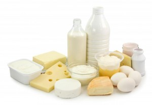 Dairy Products: A common source of dog food allergies