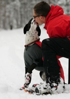 Dogs can't catch colds from humans